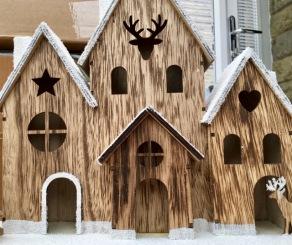 Spooky Christmas house