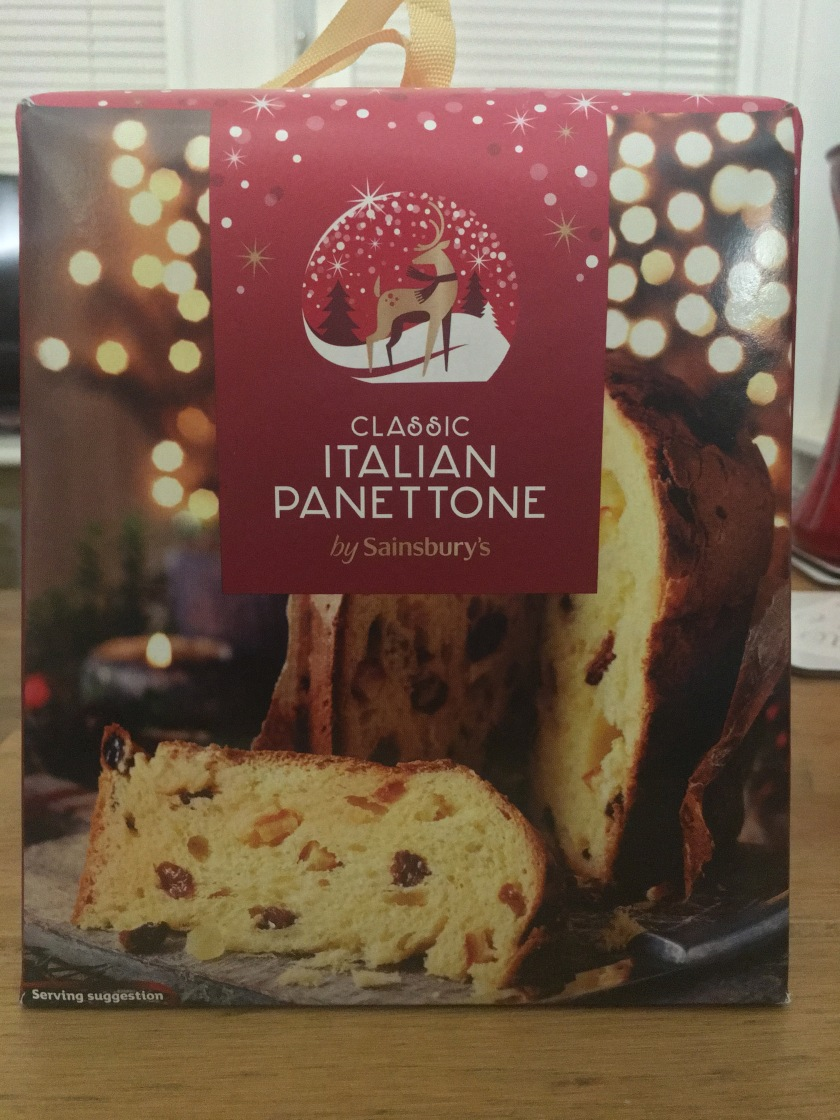 Sainsburys Classic Italian Panettone The Mince Pie The