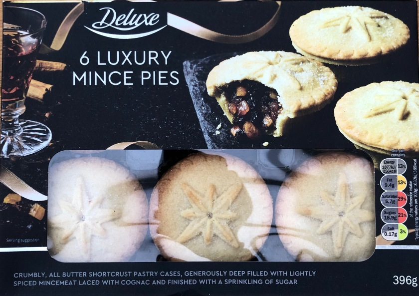 Review Lidl Deluxe Luxury Mince Pies 2018 The Mince Pie